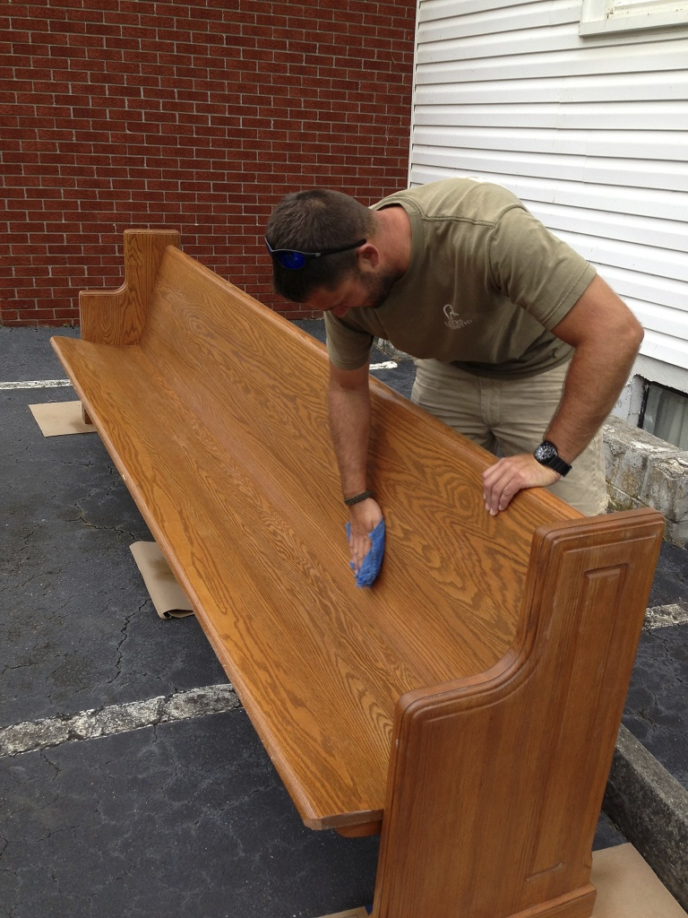 Church Depot | Church Pew Restoration