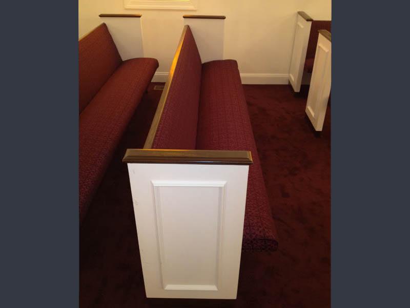 Church Depot | Church Pew Upholstery