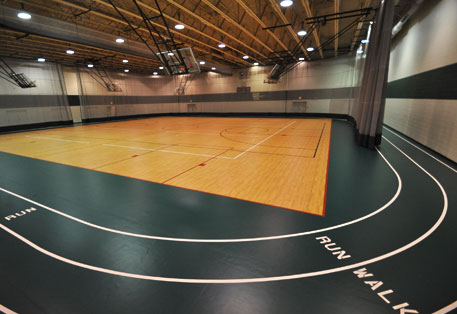 Sport court flooring church depot free estimate 1 855 for Basketball court cost estimate