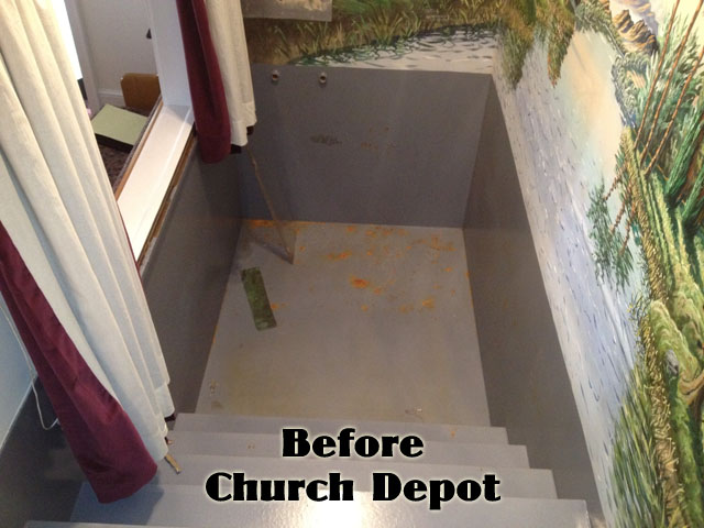 Church Depot | Church Baptistries