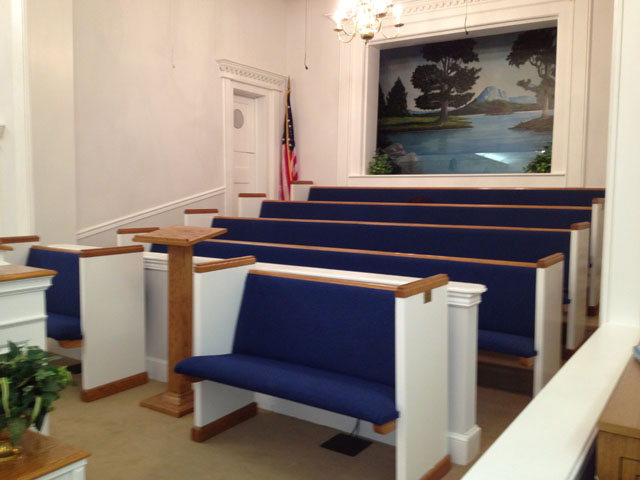 Church Depot | Church Pew Renovations