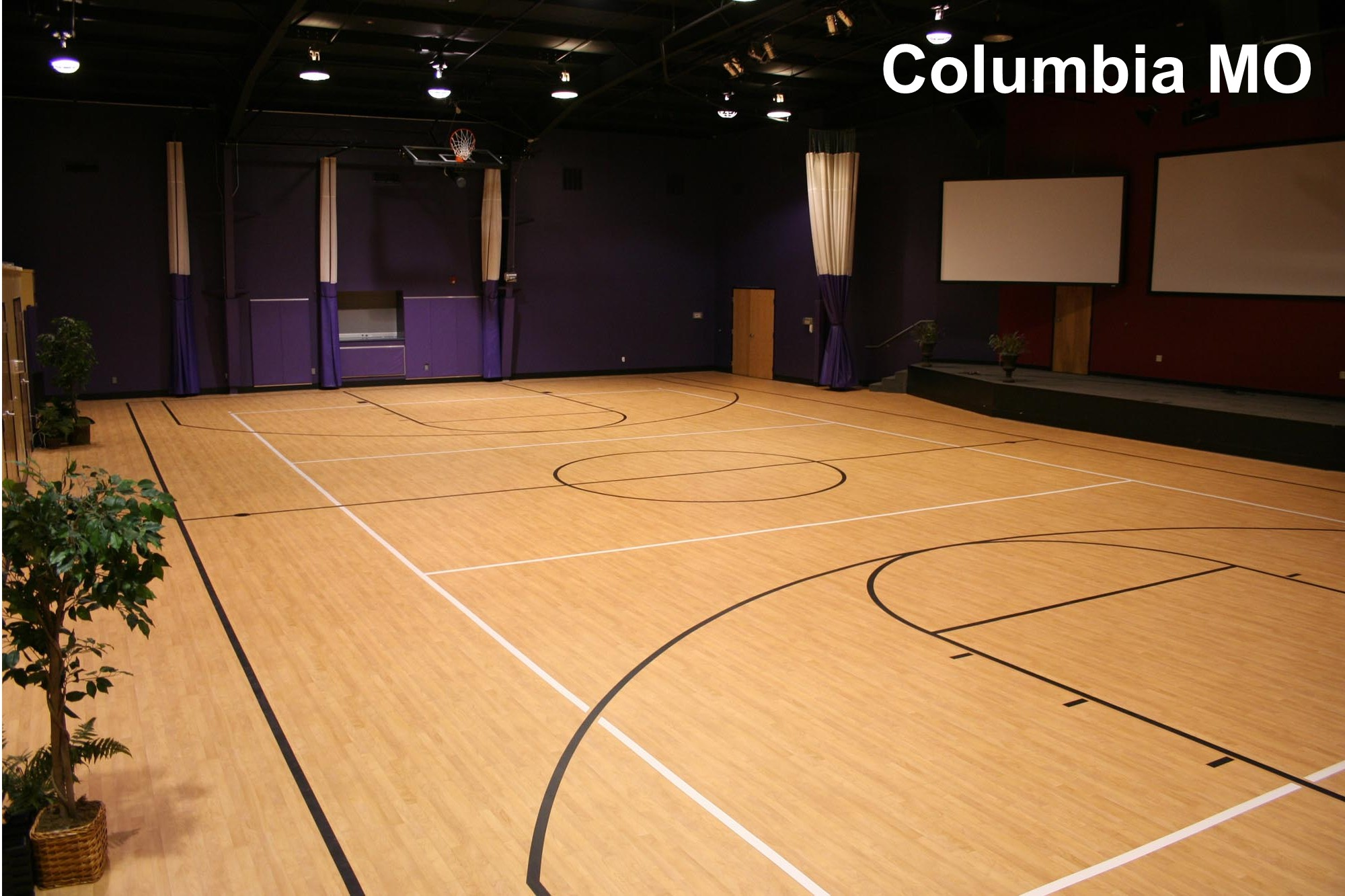 Sport Court Flooring | Church Depot - FREE Estimate 1-855-739-7372